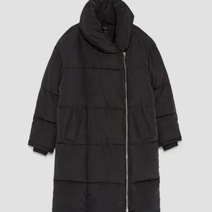 COPY - Zara Long Puffer Coat